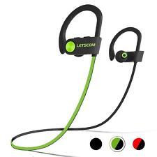 Bluetooth Headphones IPX7 Waterproof, Wireless Sport Earphones Bluetooth 4.1
