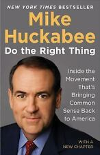 Do the Right Thing~Mike Huckabee~Paperback~NEW