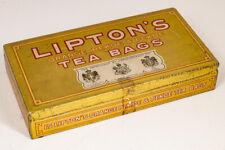 Vintage Lipton's Tea Bags Tin Box