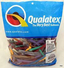 Qualatex Balloons Entertainer Assortment 100 Ct Animal Twist Balloon Sz 260 Asst