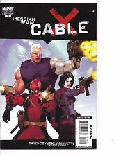 Cable (Marvel, 2009) #14 Ariel Olivetti Variant Deadpool Domino