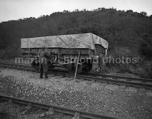 Cornwall China Clay Wagon 19.2.82 John Vaughan Negative RN109