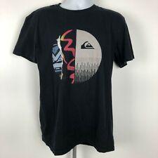 Quiksilver Men's T-shirt Size L Black VB4