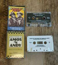 Amos N' Andy Cassette Lot - Original Radio Broadcasts Volume 3 & 5