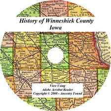 History & Genealogy WINNESHIEK COUNTY IOWA  Decorah IA Biographies Families