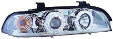 Bmw Serie 5 E39 (95-00) Cromo Halo AngelEye proyector Frente Faros Luces