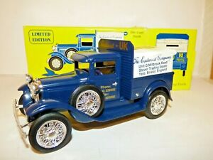 Ertl 1931 Ford Model A pickup truck The Eastwood Co, Bristol, England, money box