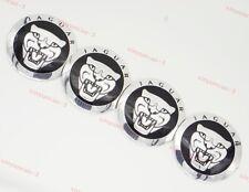 4x Auto Parts Car Wheel Center Covers Hubcaps Hub Caps Logo Emblem For JAGUAR