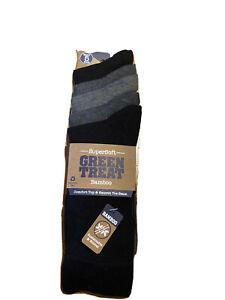 GreenTreat SuperSoft Bamboo Socks UK 7-11 5-PACK Men's