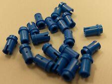 Bulk Lot Lego Part No.4274: Blue Technic, Pin 1/2, Qty x 20