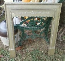 Antique Cast Iron Surround