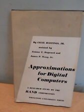 Approximations for Digital Computers By Cecil Hastings