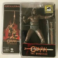 NECA Conan the Barbarian Bronze SDCC Exclusive 2008 Action Figure NEW MISB MOSC