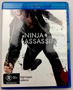 Ninja Assassin Rain Blu-ray Region B R18+ with Tracking