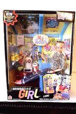 2000 Barbie Generation Girl My Room Playset w/Doll Furniture Walls Etc NIB
