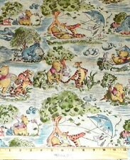 WINNIE THE POOH FABRIC! 1/2 YARD FOR QUILTING! DISNEY POOH~EEYORE~TIGGER~PIGLET!