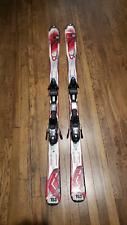 K2 Amp Strike skis 153cm red marking bindings