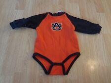 Infant/Baby Auburn Tigers 18 Mo LS Creeper (Orange) Majestic