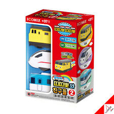 TITIPO & Friends Pullback Gear Mini Train Car Toy-Series 2/ Eric,Loco,Sing Sing
