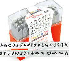Store Closing BNIB ImpressArt Scarlett's Signature UC  Metal Letter Stamps Punch