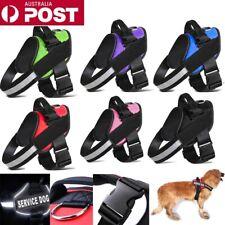 Strong Adjustable Pet Puppy Dog Walk Harness Reflect Extra Large Small Medium