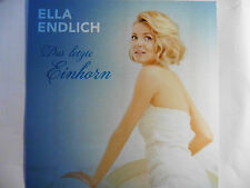 Ella Endlich   Das letzte Einhorn   Promo Maxi - CD 1 Track 2014 Adrenalin Rar!