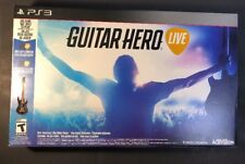 Guitar Hero Live W/ Wireless Guitar Controller Bundle (PS3) NEW