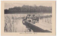 Swedish Girl Scout Group PPC, Unposted c 1920's, Bilder Ur Flickscoutslivet