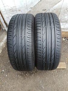2x 225 50 18 Bridgestone Turanza T001 ☆  Extra Load