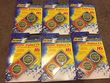 Super Soaker Water Tag Body Targets 16 Target Pack w/ Body Clips Lot of 6 Sealed