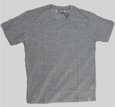 Basic T-Shirt V-Neck Grey