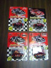 Lot of 4 NASCAR RACING CHAMPIONS BILL ELLIOTT Autographed STOCK 93-95 CAR ED.