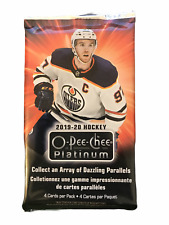 2019-20 Upper Deck O-Pee-Chee Platinum Hockey Booster Pack | 1 Booster pack