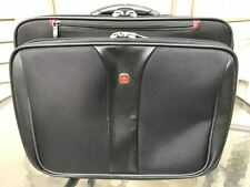 "Wenger PATRIOT Black Wheeled Computer Laptop Case - Fits 15.4"" Screens"