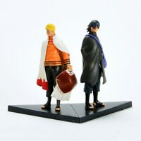 "6"" inch Naruto Movie The Last Uzumaki Sasuke Uchiha 2 Pcs Figures Anime Toys"