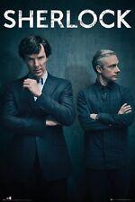 SHERLOCK POSTER fea. Benedict Cumberbatch SEASON 4 POSTER 24x36