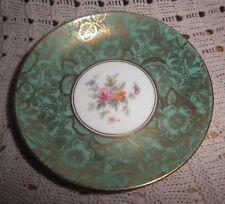 Vintage Minton Brocade Green Saucer Pin Dish Excellent Condition