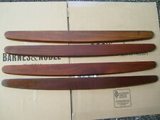 Dahlquist Dq-10 stereo speakers grille frame Wood Side Panels wooden side 4