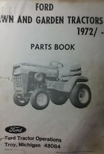 Ford LGT 100 120 125 145 Lawn Garden Tractor Parts Manual 48pg Jacobsen 1972<
