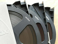 3 Revox Kunststoff Spulen black reels 26,5cm m.Bandmaterial i Revox Schuber (T7)