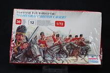 YB092 ESCI 1/72 maquette figurine 217 Scots Greys British Cavalry Waterloo 1815