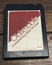 8 Track 1978 Oldsmobile Dealer Demo Tape Cartridge Tested & Working Classic Car