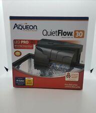 AQUEON QuietFlow 30 Aquarium Power Filter 200 GPH