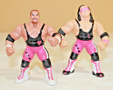 WWF WWE ECW WCW CUSTOM HASBRO HART FOUNDATION WRESTLING ACTION FIGURE