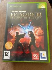 STAR WARS EPISODE III REVENGE OF THE SITH - XBOX GAME / XBOX 360 - COMPLETE VGC