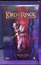 Lord of the Rings Sideshow Weta Haradrim Soldier Polystone Statue