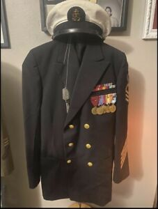 Navy Named Grouping WWII-Korea Cheif Petty Officer Researched Uniform Medals