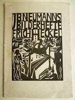 Graphisches Kabinett Jsrael Ber Neumann, Erich Heckel, Kunst, J.B. Neumann