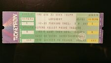 Loverboy  Ticket 8/22/1986 Alpine Valley MAKE AN OFFER!