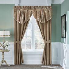 Croscill Birmingham Pole Top 84-Inch Window Curtain Panel Pair in Spice